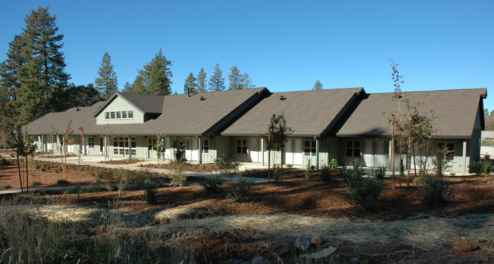 hospice foothills rear exterior