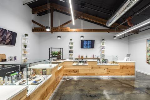 cannabis dispensary interior design